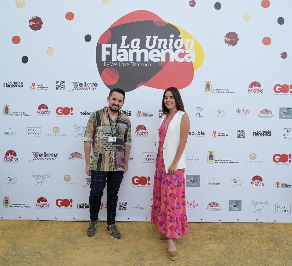 Cayetano Gómez y Claudia Alfaro
