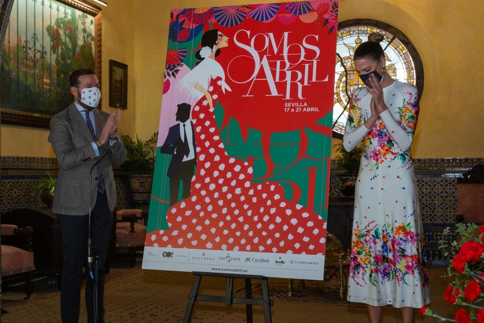 Javier Villa y Laura Sánchez presentan en cartel de Somos abril.