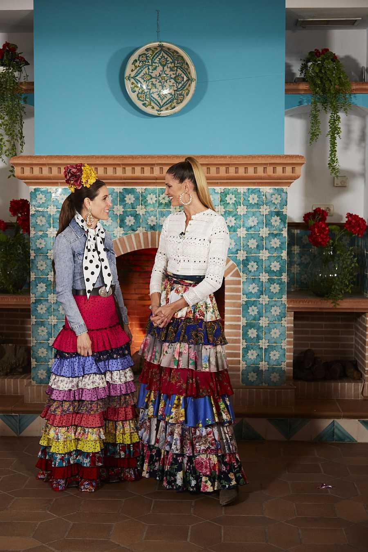 Laura Sánchez y Raquel Sánchez Silva en Maestros de la Costura